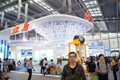 Shenzhen Kina: Mässa för hög Tech Royaltyfri Bild