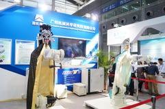 Shenzhen Kina: Mässa för hög Tech Arkivbilder