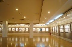 Shenzhen Kina: Måla arbetsutställning Arkivfoton