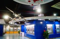 Shenzhen Kina: Obemannad flyg- medelutställning Royaltyfria Bilder