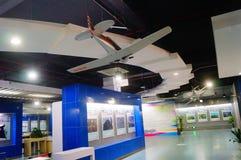 Shenzhen Kina: Obemannad flyg- medelutställning Royaltyfri Fotografi