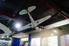Shenzhen Kina: Obemannad flyg- medelutställning Arkivfoto