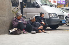 Shenzhen Kina: tiggare Royaltyfria Foton