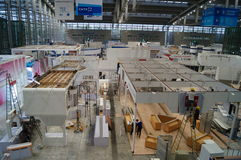 Shenzhen konwencja, Powystawowy centrum pracownicy w budowie i projekt, zdjęcie royalty free