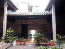 Shenzhen kulturalnych relikwii ochrony jednostki, Wang Dazhong Cheng świątynia Zdjęcia Stock
