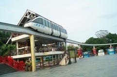 Shenzhen kultury wioski Ludowej turystyki Sceniczny teren fotografia royalty free