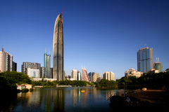 Shenzhen landmarks Royalty Free Stock Image