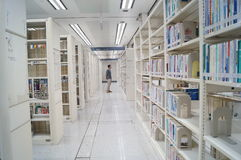 Shenzhen library, readers in reading Stock Photography