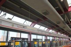 Shenzhen light rail routes station Stock Images