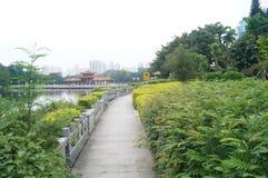Shenzhen litchi park scenery Royalty Free Stock Image