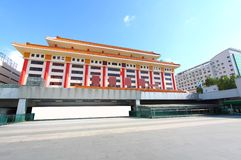 Shenzhen Lo Wu Control Point. It is the port to transit from Mainland China to Hong Kong SAR Royalty Free Stock Images
