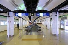 Shenzhen lo wu train station Royalty Free Stock Image