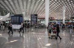 Shenzhen lotnisko Zdjęcie Royalty Free