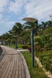 Shenzhen Meisha Beach beach promenade Royalty Free Stock Photos
