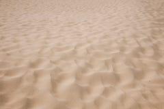 Shenzhen Meisha beach footprints in the sand hard Royalty Free Stock Image