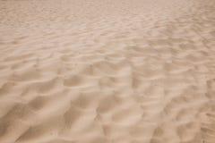 Shenzhen Meisha beach footprints in the sand hard Royalty Free Stock Photo