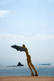 Shenzhen Meisha Beach sculpture Stock Images