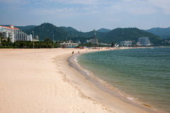 Shenzhen Meisha Seaside Park gold coast Royalty Free Stock Image