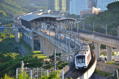Shenzhen Metro Train Stock Image