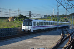 Shenzhen Metro Train Stock Photography