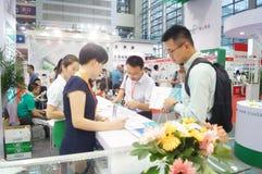 Shenzhen międzynarodowy mądrze dom i inteligentny narzędzia expo Zdjęcia Royalty Free