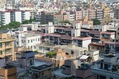 Shenzhen miasto - mieszkaniowi domy Zdjęcie Royalty Free