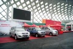 Shenzhen motor show Stock Photos