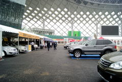 Shenzhen motor show Royalty Free Stock Photos