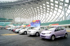Shenzhen motor show Royalty Free Stock Photo