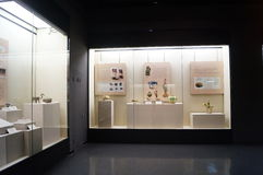 Shenzhen Museum: Chinese Han Dynasty relics exhibition Royalty Free Stock Image