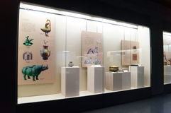 Shenzhen Museum: Chinese Han Dynasty relics exhibition Stock Photo