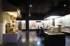 Shenzhen Museum: Chinese Han Dynasty relics exhibition Stock Images