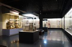 Shenzhen Museum: Chinese Han Dynasty relics exhibition Stock Photography