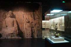 Shenzhen Museum: Chinese Han Dynasty relics exhibition Royalty Free Stock Images