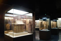 Shenzhen Museum: Chinese Han Dynasty relics exhibition Royalty Free Stock Photos