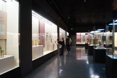 Shenzhen Museum: Chinese Han Dynasty relics exhibition Royalty Free Stock Photography