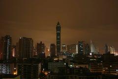 ShenZhen na noite fotos de stock royalty free