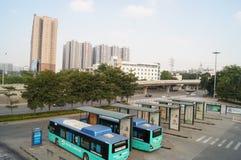 Shenzhen Nantou checkpoint traffic landscape Royalty Free Stock Photos