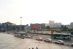 Shenzhen Nantou checkpoint traffic landscape Stock Photography
