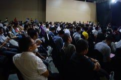 Shenzhen nauka i technika innowaci konferencja obraz royalty free