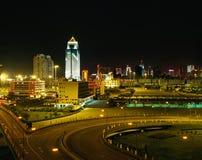 Shenzhen night scene Royalty Free Stock Photo