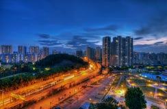 Shenzhen night scene. China Stock Photography