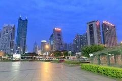 Shenzhen night sight Stock Photos