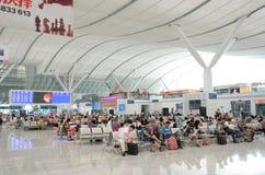 Shenzhen North railway station Royalty Free Stock Photos