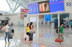 Shenzhen North railway station Royalty Free Stock Photography