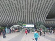 Shenzhen North Railway Station Royalty Free Stock Photo