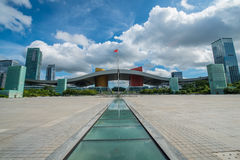 Shenzhen Openbaar Centrum Royalty-vrije Stock Foto's