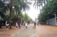 Shenzhen overseas Chinese town cultural and Creative Park. Five one labor day, Shenzhen overseas Chinese town cultural and creative park, ushered in a lot of Stock Image