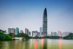 Shenzhen Park and Skyline Stock Photos
