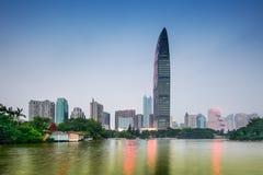 Shenzhen Park and Skyline Stock Photos